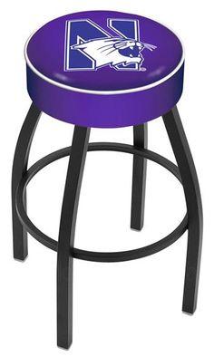 "Northwestern University 4"" Seat Bar Stool✖️More Pins Like This One At FOSTERGINGER @ Pinterest✖️"