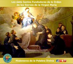 MISIONEROS DE LA PALABRA DIVINA: SANTORAL - LOS SIETE SANTOS FUNDADORES DE LA ORDEN...
