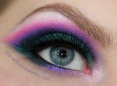 """Jewel Thief Look - Gemstone Eyes with Tutorial ~ """" Pigments and Palettes """" 