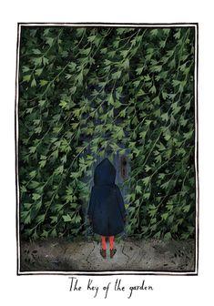 Scenes from The Secret Garden by Júlia Sardà on... |