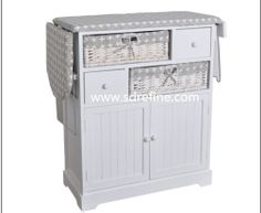 ironing board storage cabinet | White storage cabinet for ironing clothes--RFB-050-Ironing board ...
