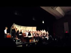 Some Nights - Becker, Minnesota High School Choir Concert - YouTube
