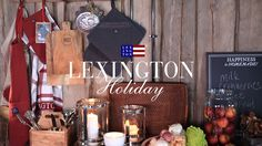 Lexington Holiday Collection Home 2016. The movie.