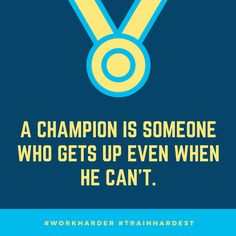 Who is a Champion?