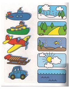 Preschool Learning Activities, Preschool Worksheets, Toddler Preschool, Preschool Activities, Teaching Kids, Alphabet Worksheets, Toddler Worksheets, Teaching Spanish, Transportation Theme Preschool