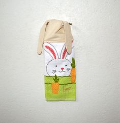 Kitchen Hand Towel Bunny  Easter Towel Dish Towel by SuesAkornShop, $8.00