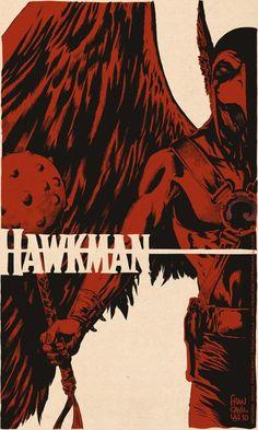 Hawkman by Francesco Francavilla