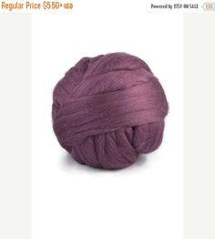 SALE Merino wool  19 micron: purple reg.(superfine)