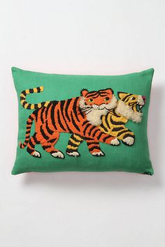totally charming. totally unreasonably priced. anthropologie tufted bengal pillow. $298