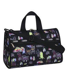 Disney Pixar Monsters Inc. collaboration with LeSportsac. Medium Weekender bag.