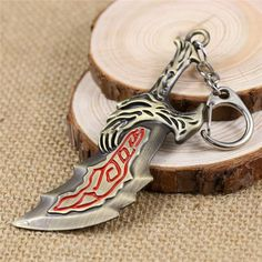 God Of War 4 Collier Kratos Blades of Chaos arme Cosplay Pendentif pour hommes cadeau