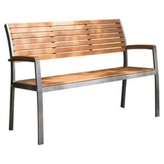 Buyers Choice Phat Tommy Fushion Steel / Wood Park Bench- Fount door?