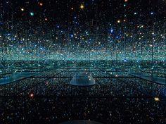 Infinity Mirrored Room – The Souls of Millions of Light Years Away, 2013: Yayoi Kusama