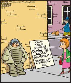 Free Range by Bill Whitehead for October 2019 - GoComics Cartoon Jokes, Funny Jokes, Hilarious, Cartoons, English Language Jokes, Psychology Humor, Funny Meme Pictures, Super Funny Quotes, Speak The Truth