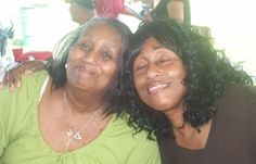 My mother and her beauty mark with her sister. Beauty Marks