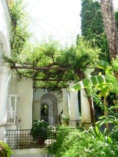 Villa San Michele, Capri. Italy