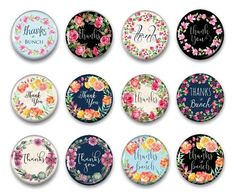 A great way to say thank you! These pretty Victorian style magnets are so pretty you'll want them for yourself! Our strong fridge magnets will add personality to anything you want to post on your refrigerator! You can post appointments, grocery lists, receipts, recipes and those precious drawings from your favorite child artist with our powerful magnets.    Thank You Magnets - Thank You Gift - Refrigerator Magnets - Fridge Magnets - Cubicle Decor - Unique Gift