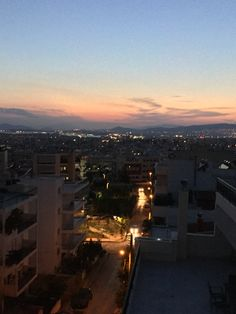 Piraeus view from Ano Kalamaki, Aghios Dimitrios, Athens