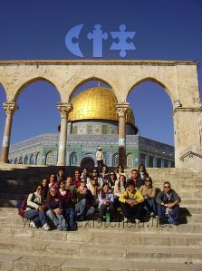 Academic Field Trip overseas to Israel for exchange and international students - Summer and Winter Travel the Middle East and Study Abroad at the Hebrew University of Jerusalem - a World Top 100 University. Top 100 Universities, Summer Courses, Jerusalem Israel, Study Abroad, Middle East, Taj Mahal, Foundation, Students, University