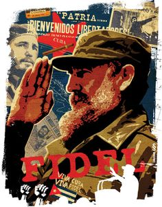 Wolphins.com / © Illustrator Sergey Snurnik / Playboy 'Hero' column  / Fidel Castro