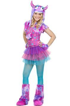 Polka Dot Monster Teen Costume #Halloween #costumes #monsters
