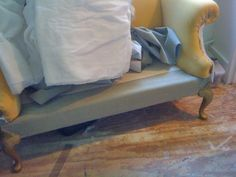 Before & After: Jude's Virtually Free Sofa