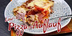 Pizza-Auflauf – Low-Carb Ofen-Schlemmerei