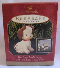 1999 Hallmark Ornament Golden Book The Poky Little Puppy by Hallmark, http://www.amazon.com/dp/B005WK76D2/ref=cm_sw_r_pi_dp_bRm-qb0F91T36