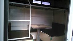 Bumper pull bunk beds