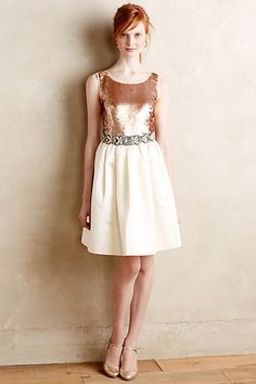Addie Sequin Dress - anthropologie.com #anthrofave
