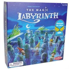 Magic Labyrinth board game front of box Best Family Board Games, Family Games, Labyrinth Board Game, Arty Toys, Game Info, 13 Year Olds, Online Games, Free Games, Cool Toys