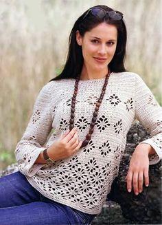 Delicadezas en crochet Gabriela: Pullover