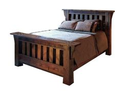 Amazing Mission Style Bed for Classy Bedroom Idea : Simplify Your ...