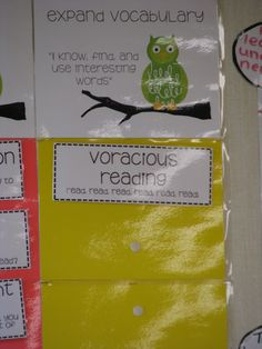 The Reading Corner: Classroom Pictures