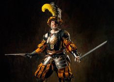 Warhammer FB - Empire Lieutenant Klaus Vogel by OrangeRoom on DeviantArt Warhammer Empire, Warhammer Art, Fantasy Battle, Medieval Fantasy, Fantasy Art, Fantasy Character Design, Character Art, Character Ideas, Larp