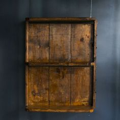 ATELIER Old Wood Wall Shelf Two stage