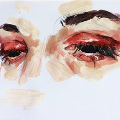 Eye study in acrylic art hoe aesthetic, aesthetic painting, portrait watercolour, portrait acrylic Watercolor Paintings Tumblr, Watercolor Art, Portrait Watercolour, Portrait Acrylic, Acrylic Art, Elly Smallwood, Art Hoe Aesthetic, Aesthetic Painting, Arte Sketchbook