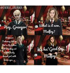 Image uploaded by ʜ ᴇ ᴍ ᴘ ᴘ ᴜ. Find images and videos about love, cute and funny on We Heart It - the app to get lost in what you love. Harry Potter Puns, Harry Potter Draco Malfoy, Draco And Hermione, Harry Potter Ships, Remus And Sirius, Harry And Ginny, Dramione, Tom Felton, Just Friends