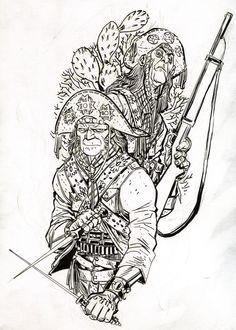 Danilo Beyruth P Tattoo, Manga Characters, Comic Artist, Dungeons And Dragons, Blackwork, Tatoos, My Books, Cool Art, Concept Art