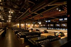 Bowl a few rounds and see a cool indie band at Brooklyn Bowl at The Linq in Las Vegas.
