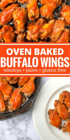 Oven Baked Buffalo Wings by The Whole Cook