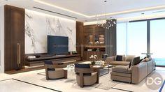 Nội thất gỗ óc chó – dấu ấn cá nhân của người đàn ông thành đạt Apartment Interior, Home Interior, Modern Interior, Interior Design, Living Tv, Living Room Modern, Living Room Decor, Hall Design, Sofa Design