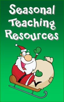 Seasonal Teaching Resources in Laura Candlers Online File Cabinet - Newly updated with activities and resources for December!
