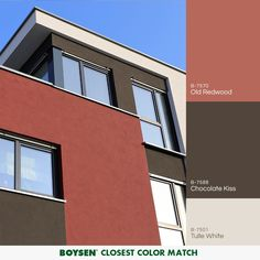 A Color That Is Making Its Mark On Modern House Exteriors Red Goes Well When Matched With Other Colors In The Neutral Palette Hues Like White Gray And
