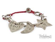 BRACCIALE BABYLONIA Q215 - red