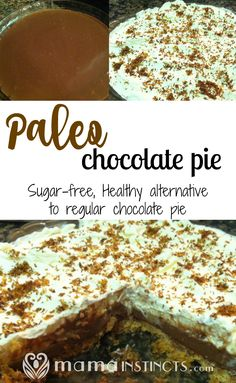 "After having chocolate pie a while back at my mother's in law I got hooked on it.  Who doesn't like homemade chocolate pie, right?  This is when I realized I needed to find a paleoish way to make this pie so my family could enjoy it, especially because I'm trying to make ""healthier"" desserts for...Read More »"