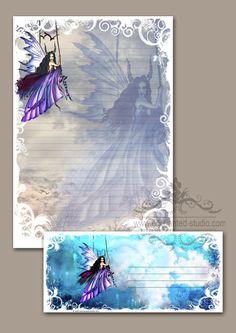 Stationery, Stationary, Fairy Art ,Fantasy art