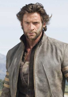 Loved Hugh Jackman as Wolverine! Only man to pull of the hairy look and make it sexy! Wolverine Hair, Hugh Wolverine, Wolverine Movie, Hugh Jackman, Hugh Michael Jackman, Al Pacino, X23 Logan, Celebrity Gossip, Celebrity Crush
