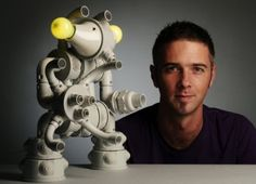 Construye un robot con tubos PVC y que los ojos iluminen el cuarto de tu hijo