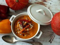pumpkin cream soup / zupa krem z pieczonej dyni